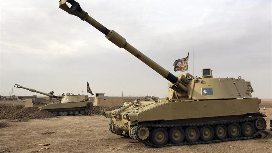 Fuerzas iraquíes toman un barrio e irrumpen en otro del este de Mosul