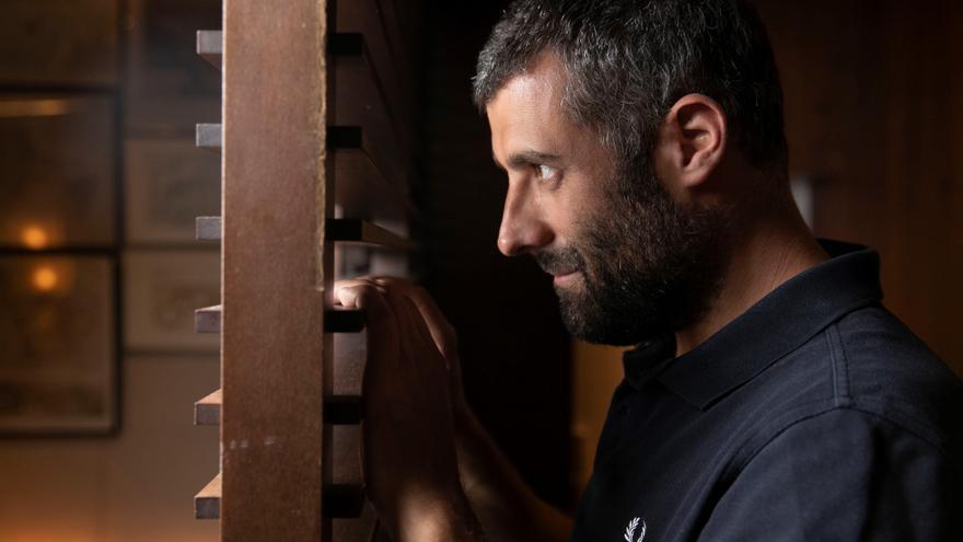 Nacho Carretero, autor de 'En el corredor de la muerte'