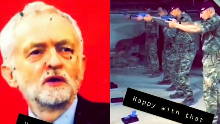 Fotograma del vídeo publicado por Sky News.