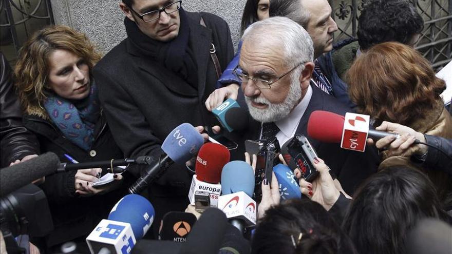Cotino asegura que trabajó como voluntario en la visita papal y no tomó ninguna decisión