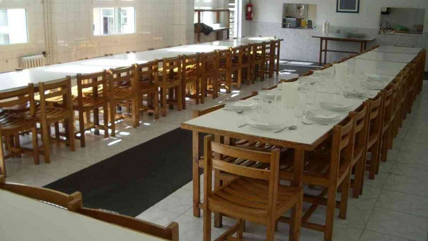Comedor del Colexio Concepción Arenal (Ourense)