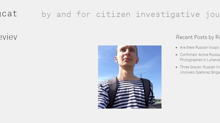 Ruslan Leviev es uno de los periodistas que han investigado la implicación de Rusia en Ucrania y Siria