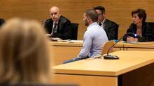 El acusado, durante la sesión del juicio