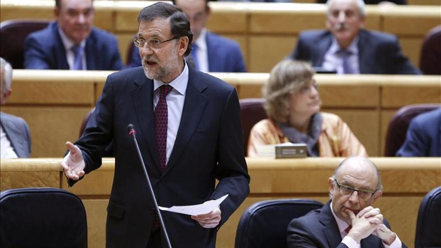 Rajoy expone hoy ante el pleno del Senado sus perspectivas sobre el desempleo