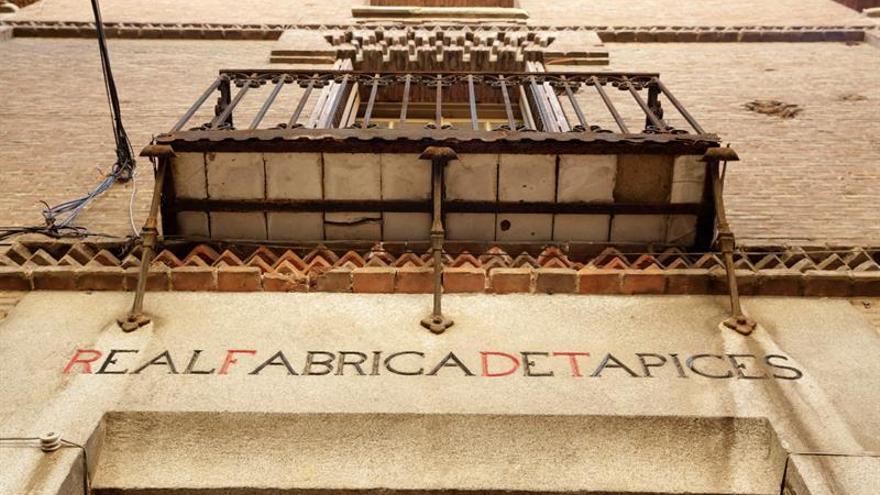 El Cerralbo recupera seis joyas textiles gracias a la Real Fábrica de Tapices