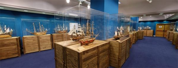 Museo de Modelismo Naval-Julio Castelo Matrán   Fotografía: Fundación Mapfre