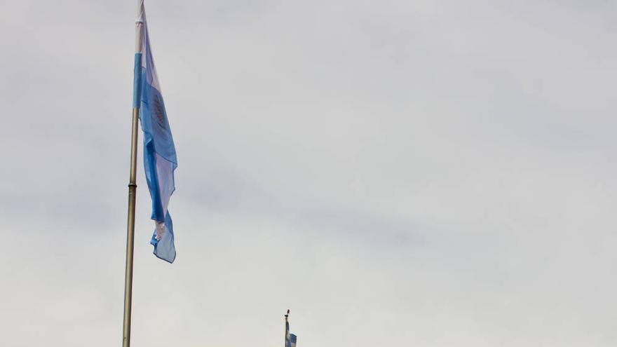 Fachada principal de la Casa Rosada desde la Plaza de Mayo.