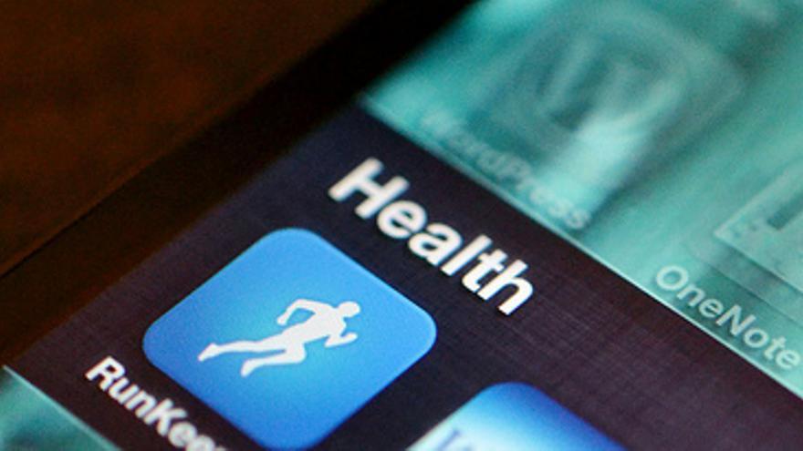 Los datos de los sensores pueden transmitirse a las aplicaciones de salud del móvil