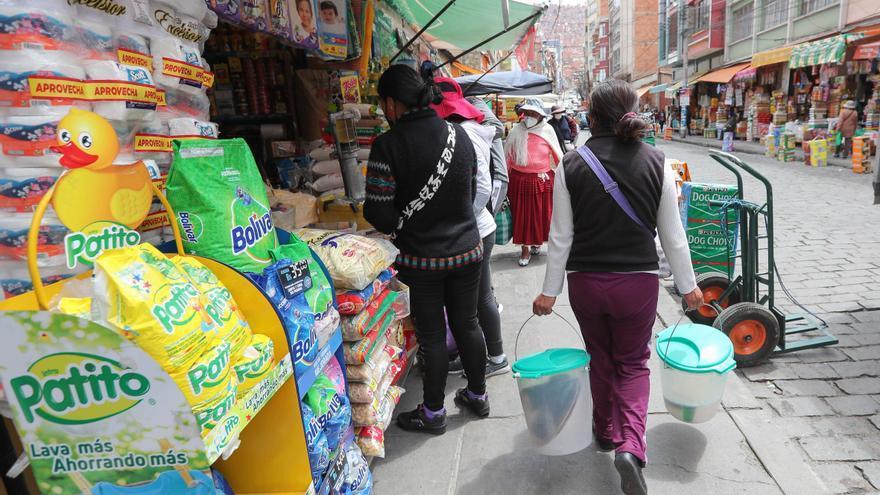 Bolivia reporta un desempleo del 6,4 % y un aumento del superávit comercial