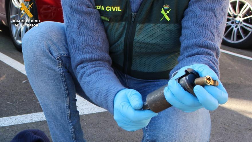 Detenido por robar en seis bares de Cantabria tras extraer la cerradura