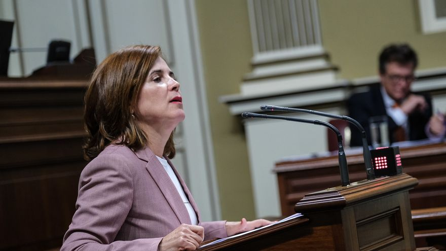 La consejera de Sanidad, Teresa Cruz Oval.