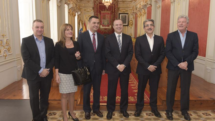Reunión entre Nueva Canarias y el Ayuntamiento de Las Palmas de Gran Canaria