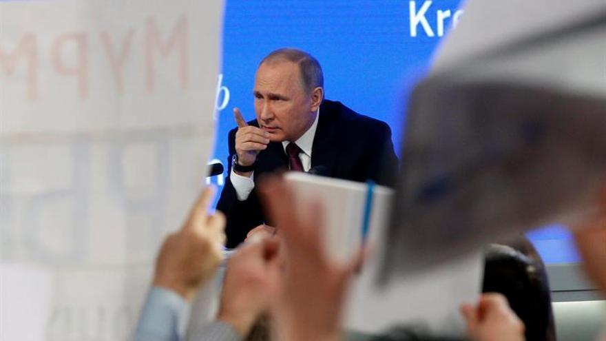 Putin encarga a Medvédev la investigación del accidente del Tu-154