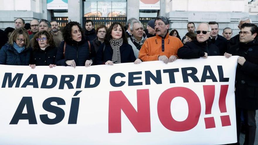 """Afectados por Madrid Central: Hemos vuelto """"a los peores años de la crisis"""""""
