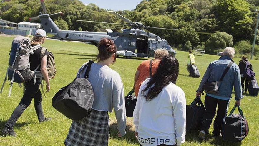 Ocho españoles esperan la evacuación de la zona afectada por el seísmo en Nueva Zelanda