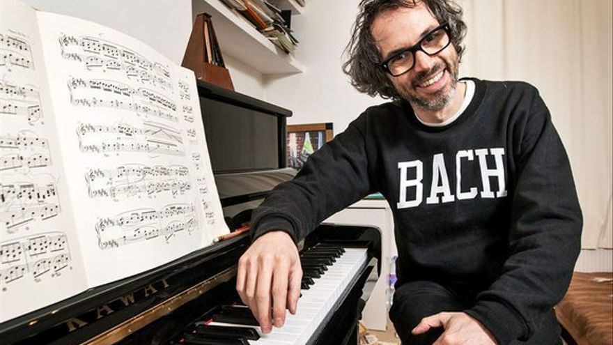 El pianista James Rhodes/ Dave Brown