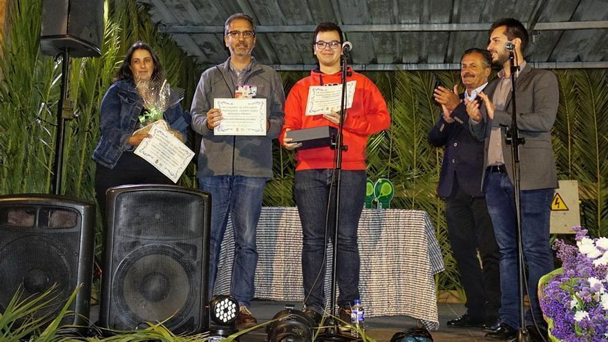 Acto de entrega de los premios del 'VIII Concurso de Fotografía Puntagorda, Encanto Rural'.