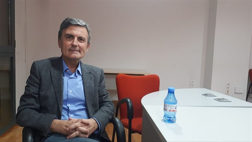 Pedro Saura, secretario de Estado de Infraestructuras en funciones y candidato al Congreso de los Diputados del PSOE por la Región de Murcia