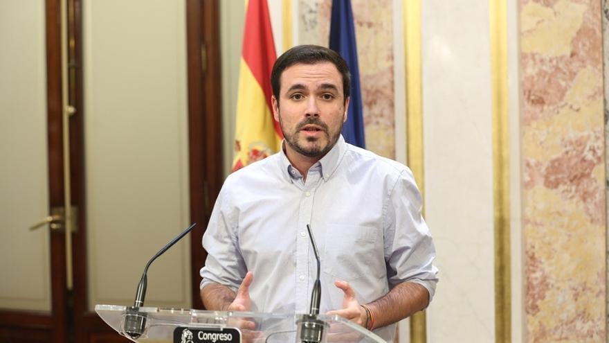 Garzón rechaza las elecciones como un plebiscito sobre la independencia y aspira a un gobierno de izquierdas