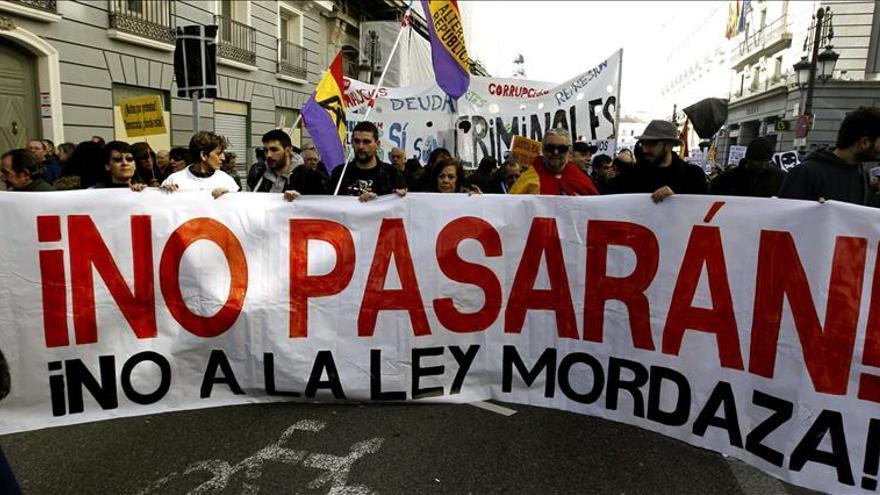 Buena sintonía entre las mareas ciudadanas en su lucha contra las reformas del PP