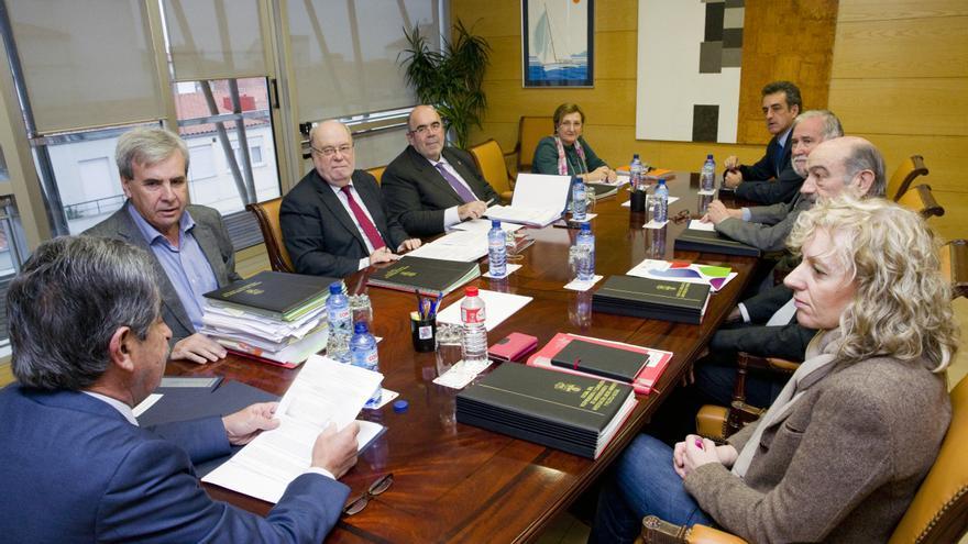 Reunión del Consejo de Gobierno de Cantabria en Peña Herbosa.