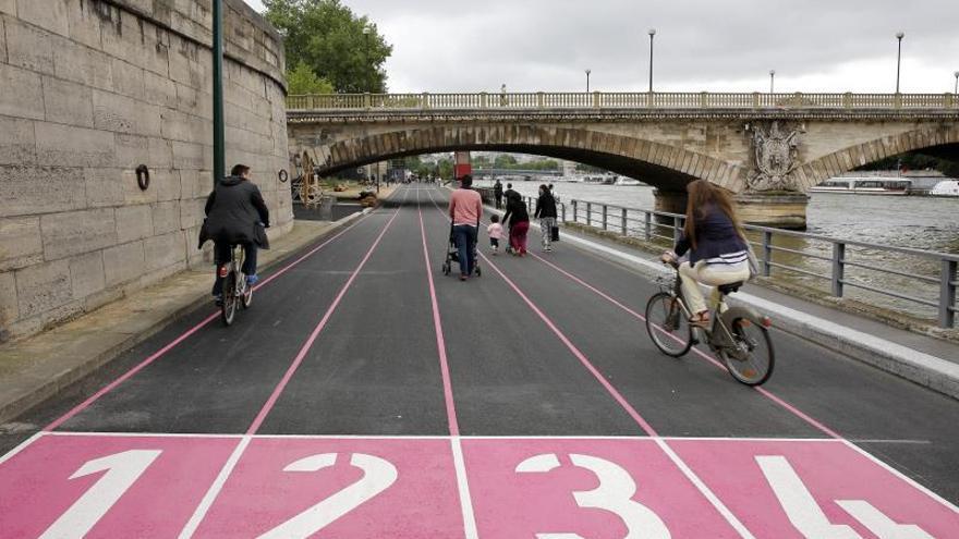 La Justicia francesa valida la peatonalización de las orillas del Sena