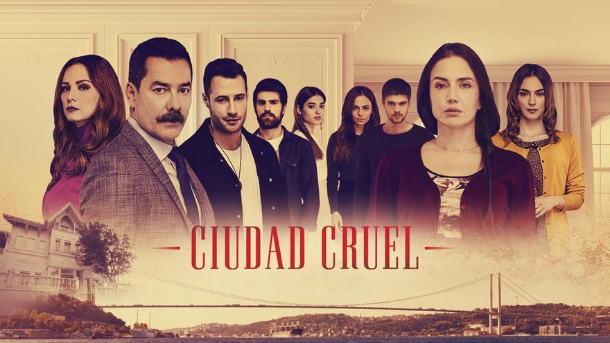 Cartel de la serie 'Ciudad cruel'