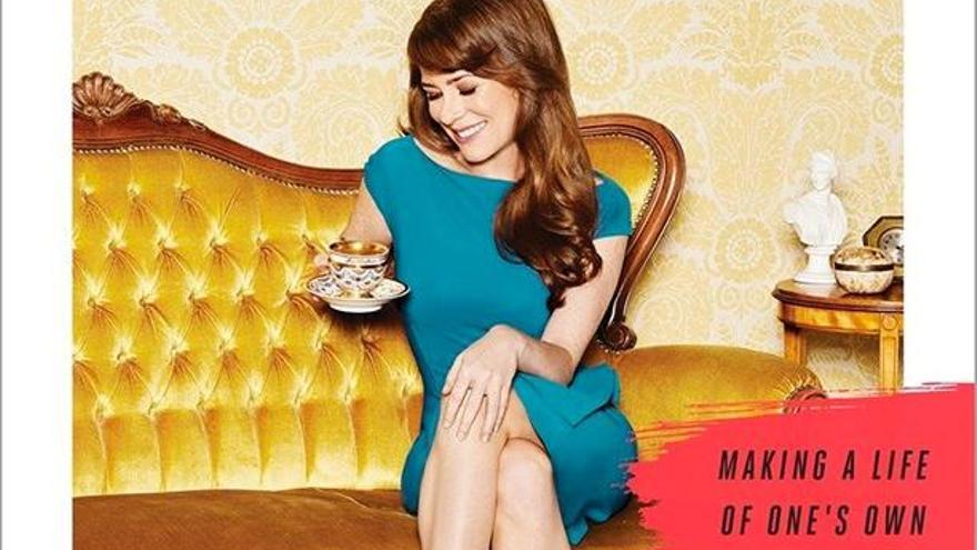 Kate Bolick en la portada de su best-seller Spinster (Solterona)