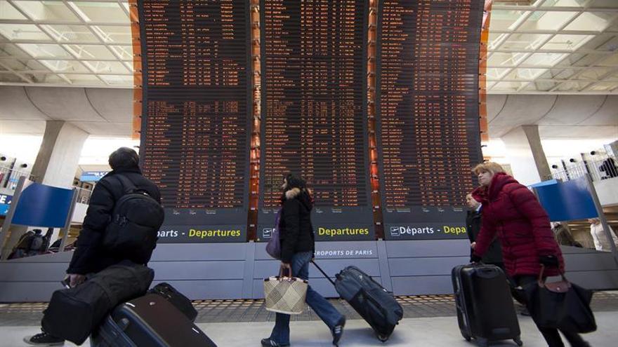 Air France cancela el 20 % de los vuelos para hoy y mañana