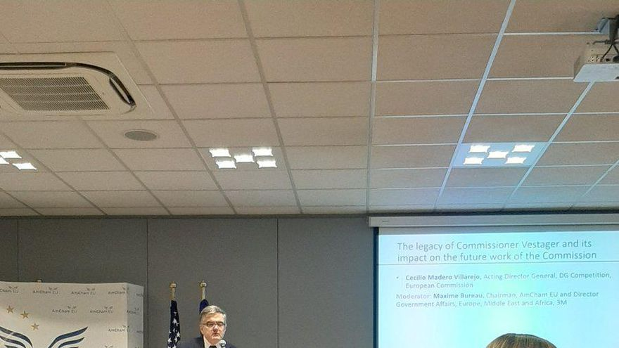 El director general adjunto de Competencia de la Comisión Europea, Cecilio Madero.