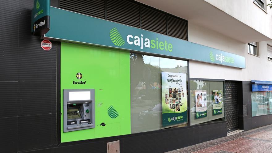 Sucursal bancaria de Cajasiete en Vecindario