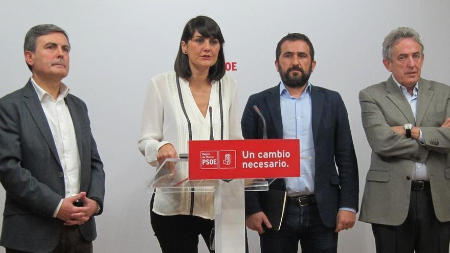 """Diputados y senadores murcianos del PSOE presentan 1.000 iniciativas para """"defender"""" a la Región de """"discriminación"""" PP"""