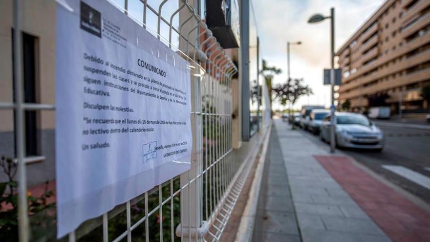 Continúan cerrados los colegios de Seseña en el undécimo día de incendio