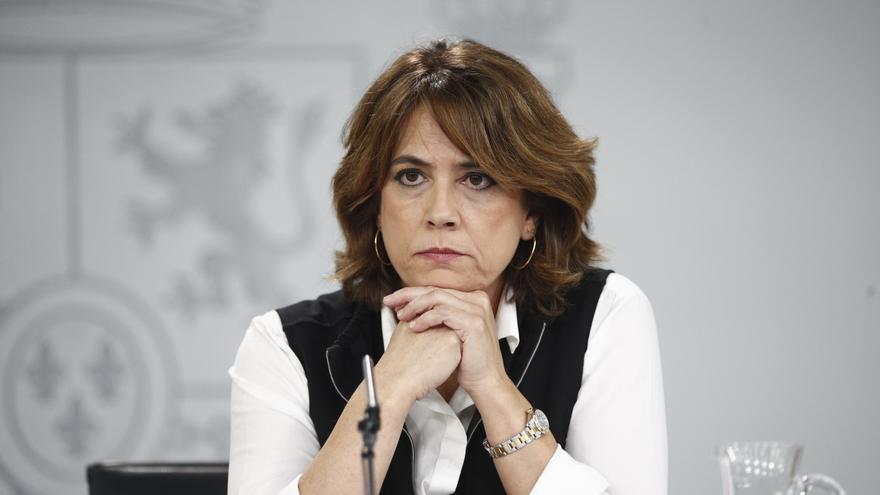 La ministra de Justicia, Dolores Delgado, en una imagen de archivo.