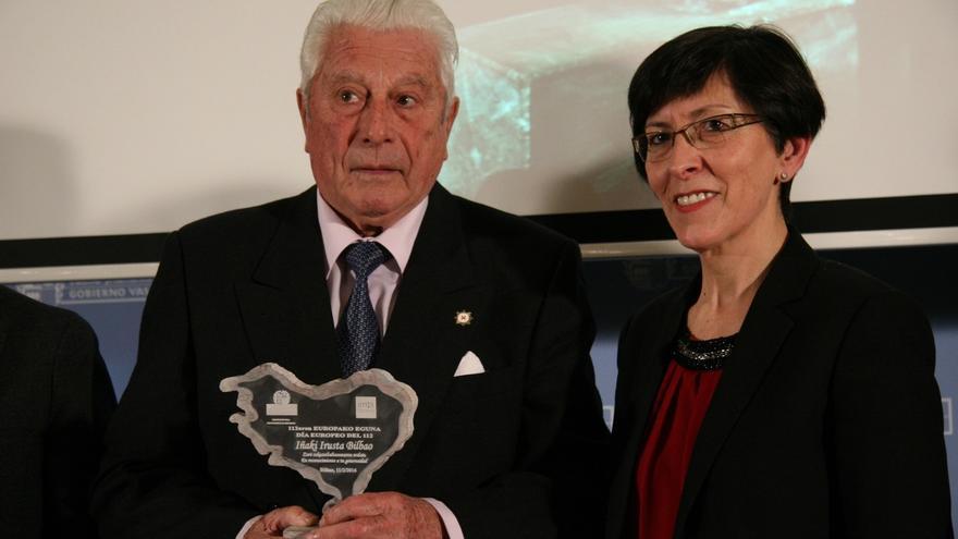 Gobierno vasco reconoce la trayectoria y labor del presidente de Cruz Roja de Euskadi, Iñaki Irusta