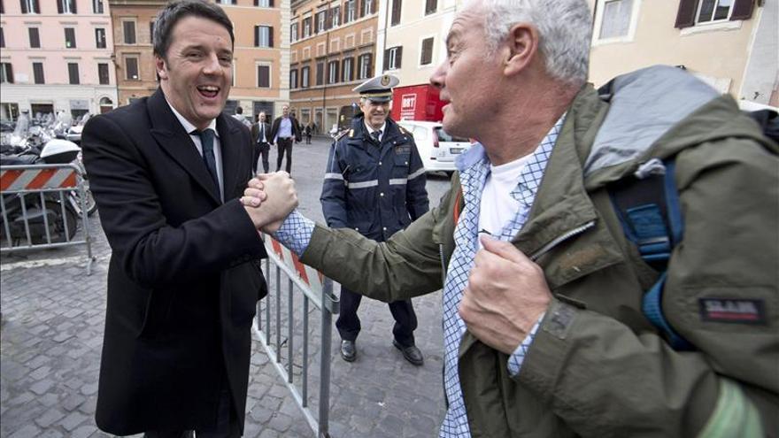 El futuro primer ministro italiano, Matteo Renzi