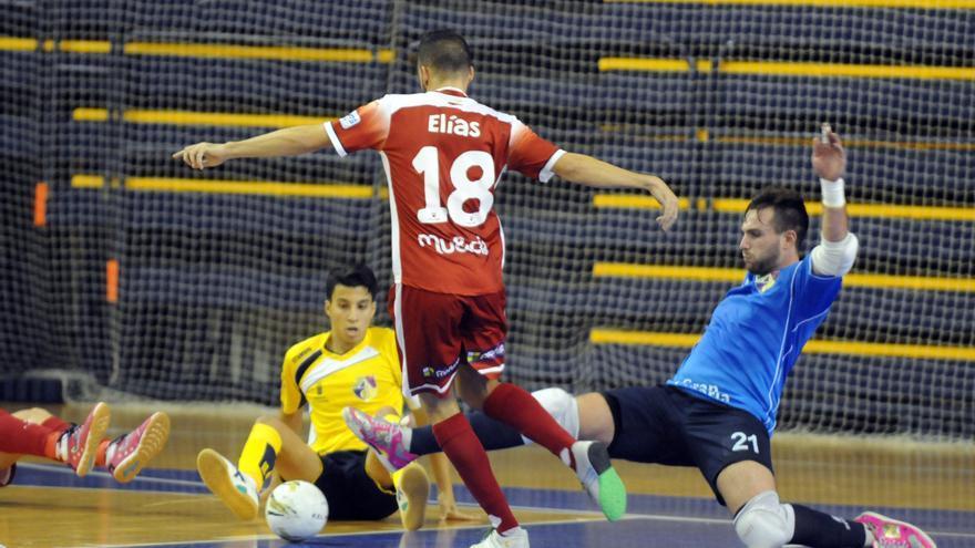 Imagen del encuentro entre el Gran CanariaFS y el Pozo Ciudad de Murcia B. (colegiosarenasgrancanaria.com).