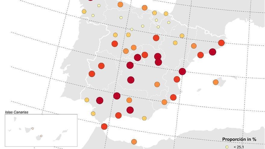 Mapa de la investigación sobre cambio climático