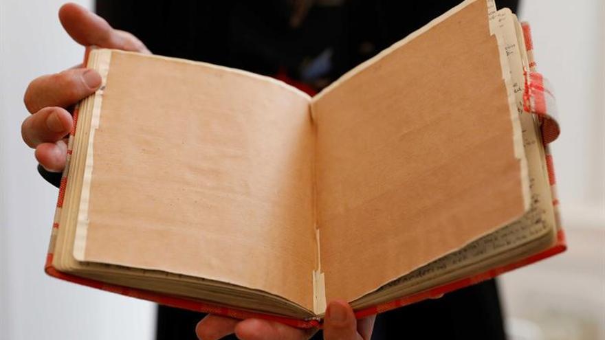Descifran dos nuevas páginas del Diario de Ana Frank en Ámsterdam