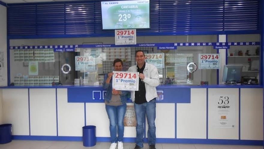 La Lotería Nacional deja 300.000 euros en Santander con un primer premio el jueves