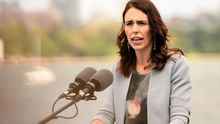 La primera ministra de Nueva Zelanda.