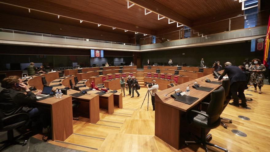 Archivo - Mesa y Junta de Portavoces del Parlamento de Navarra