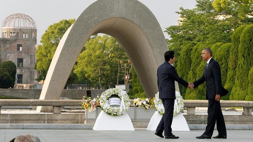 Obama y Abe sellarán reconciliación de sus países con la visita a Pearl Harbor