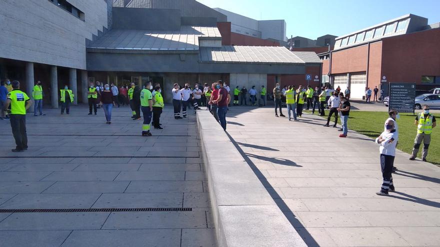 """""""Amplio seguimiento"""" de la primera de las 24 jornadas de huelga de personal del transporte sanitario"""