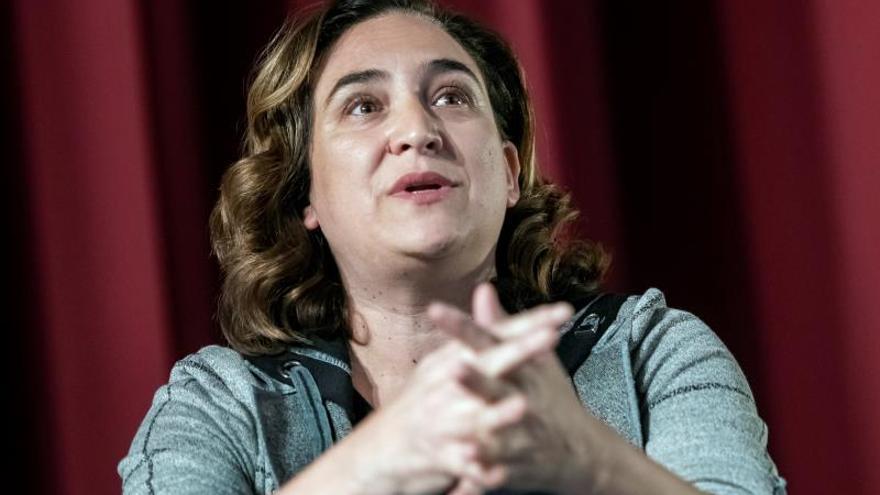 La alcaldesa Ada Colau, en aislamiento preventivo por coronavirus
