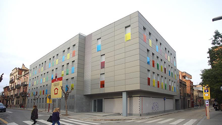 Promoció d'habitatge de la Generalitat a Molins de Rei