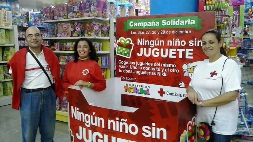 Cruz Roja Margen Izquierda reparte juguetes a más de 600 niños de familias desfavorecidas de la comarca