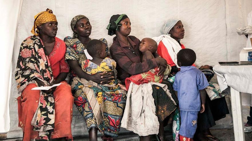 La mayoría de estas mujeres son abandonadas por sus parejas después de ser violadas. Foto: Patrick Meinhardt