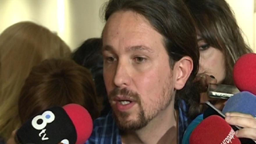 Iglesias emplaza a Sánchez a aclarar si está dispuesto a pactar con Podemos antes que a dar el Gobierno al PP