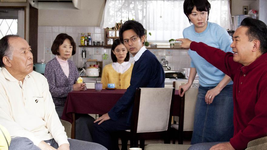 Fotograma del filme nipón 'Maravillosa familia de Tokio'